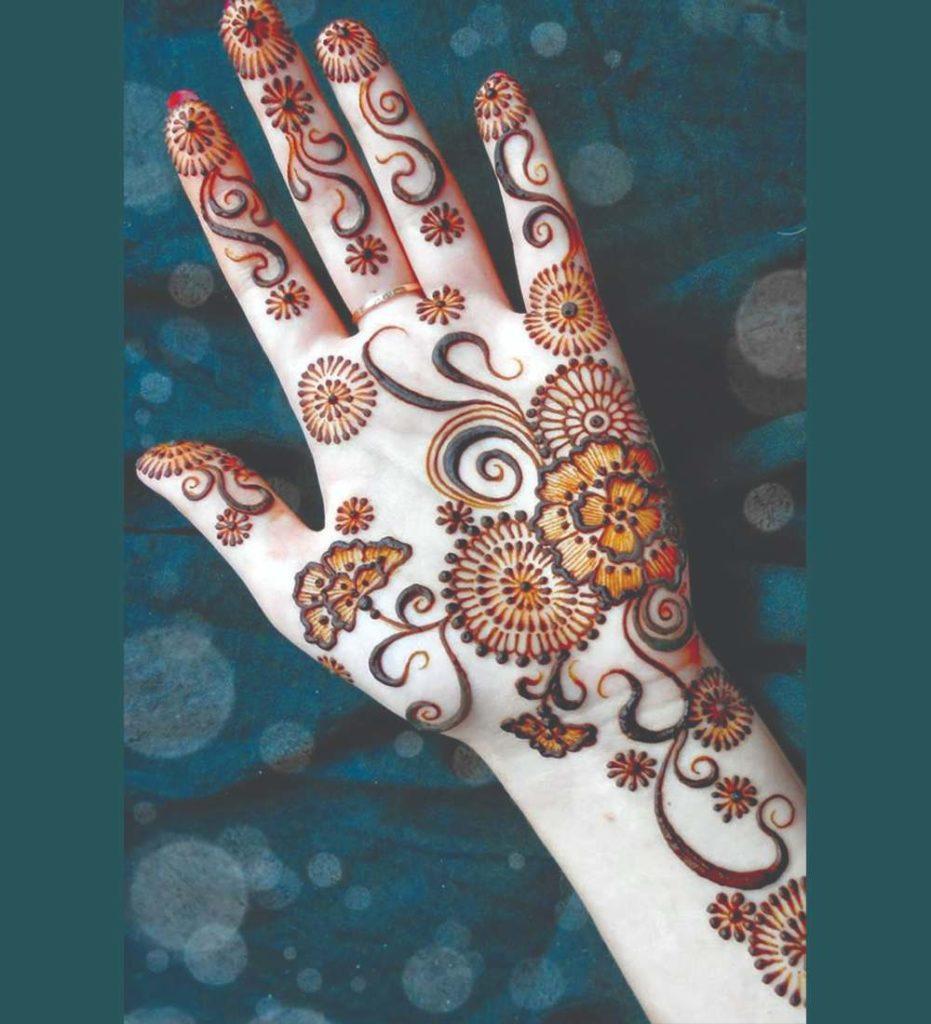 mehndi patterns arabic