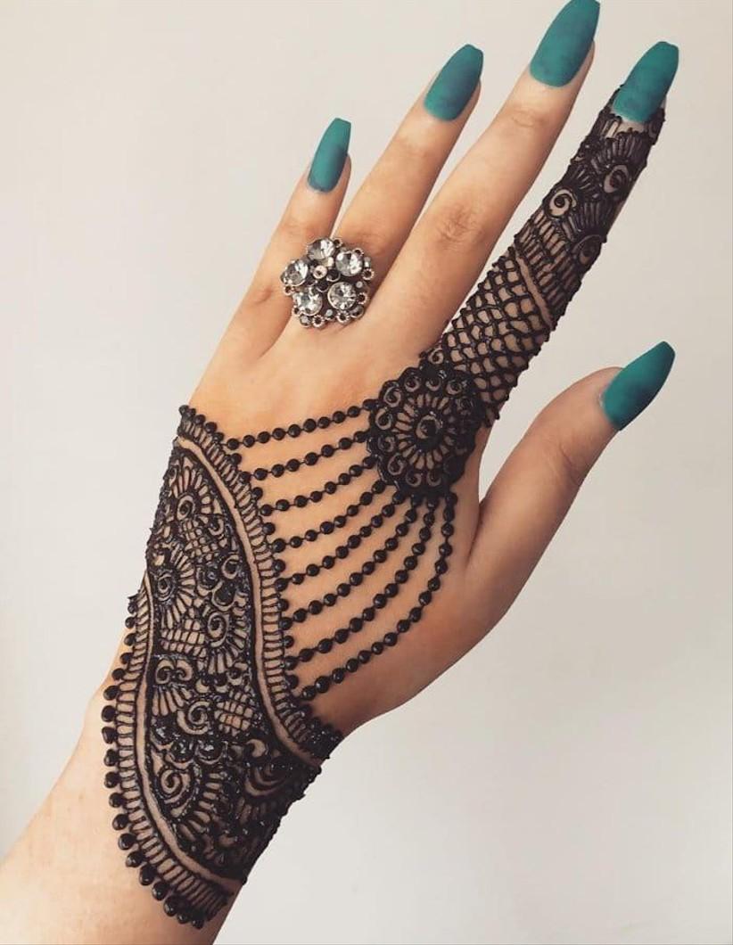 mehndi patterns arabic design jewellery