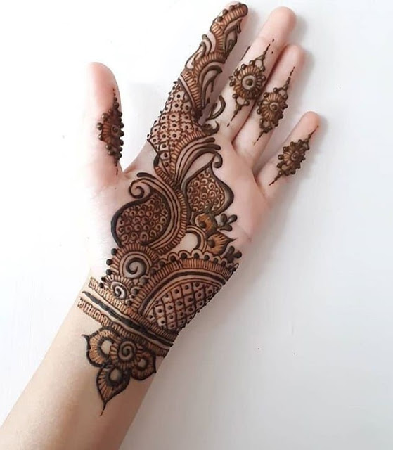 batik mehndi design eid