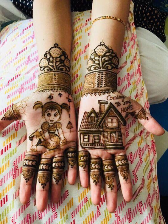 indian mehndi design kids mehndi design