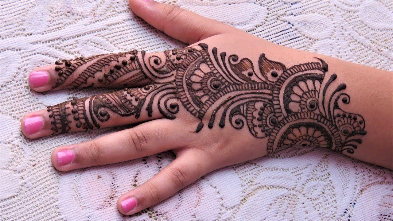 11 easy creative arabic mehndi designs for hands