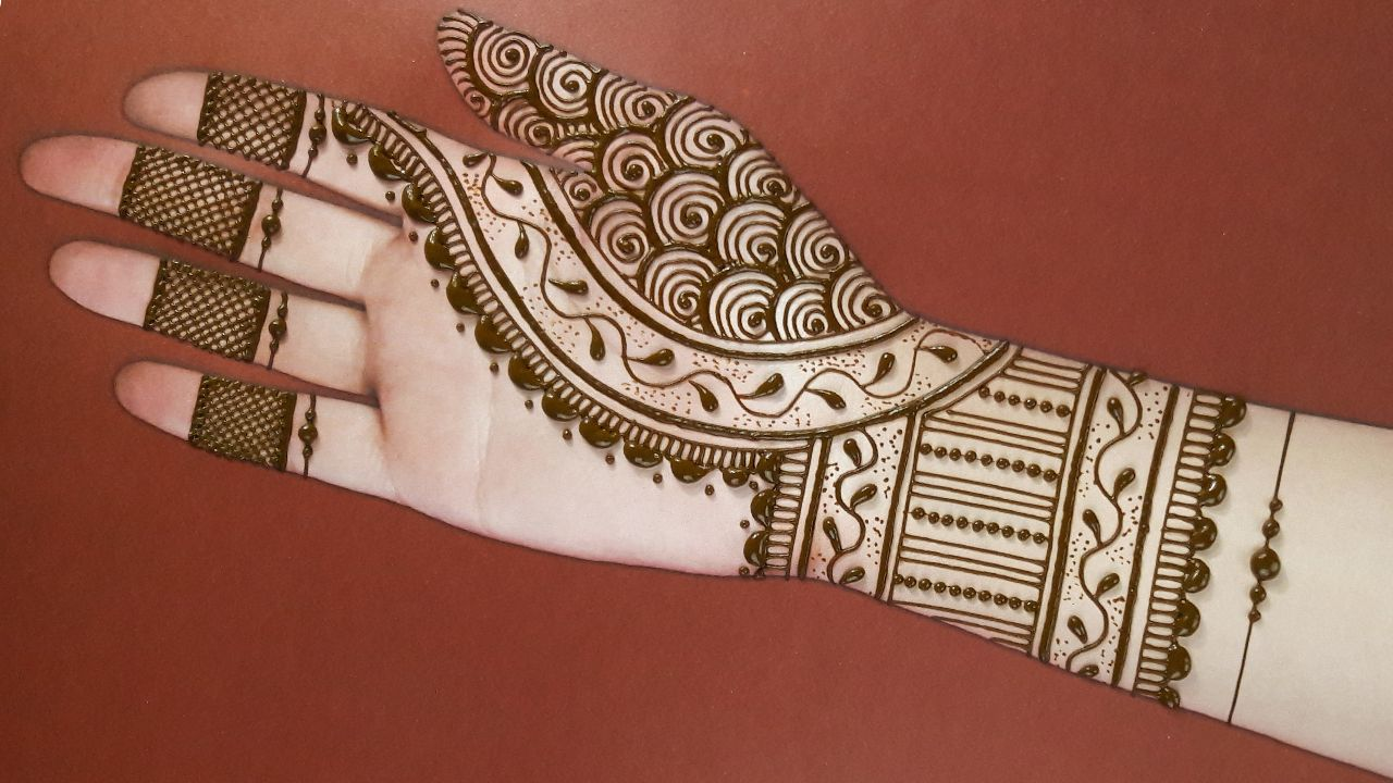 12 easy clear arabic mehndi designs for hands