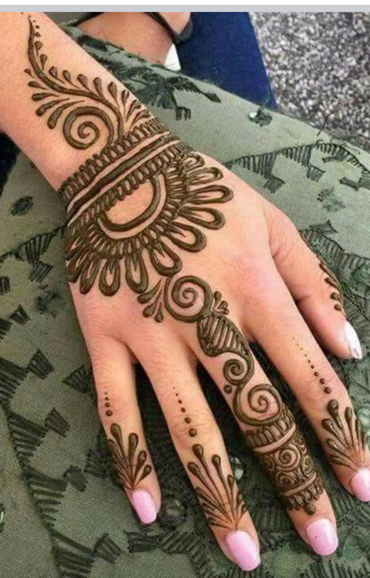 15 easy arabic floral mehndi designs for hands