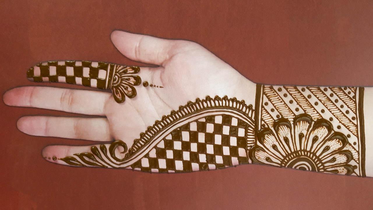 18 easy arabic mehndi designs for hands