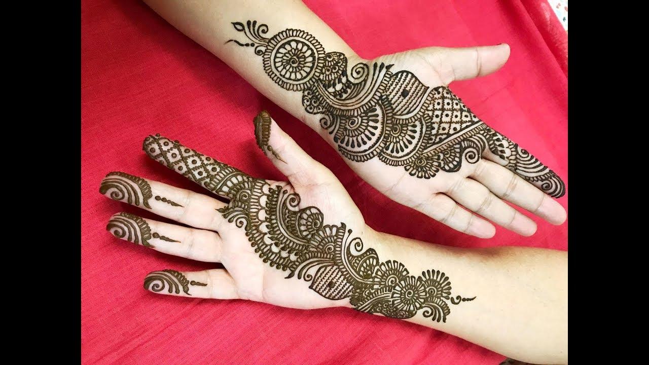 26 simple classy arabic mehndi designs for hands
