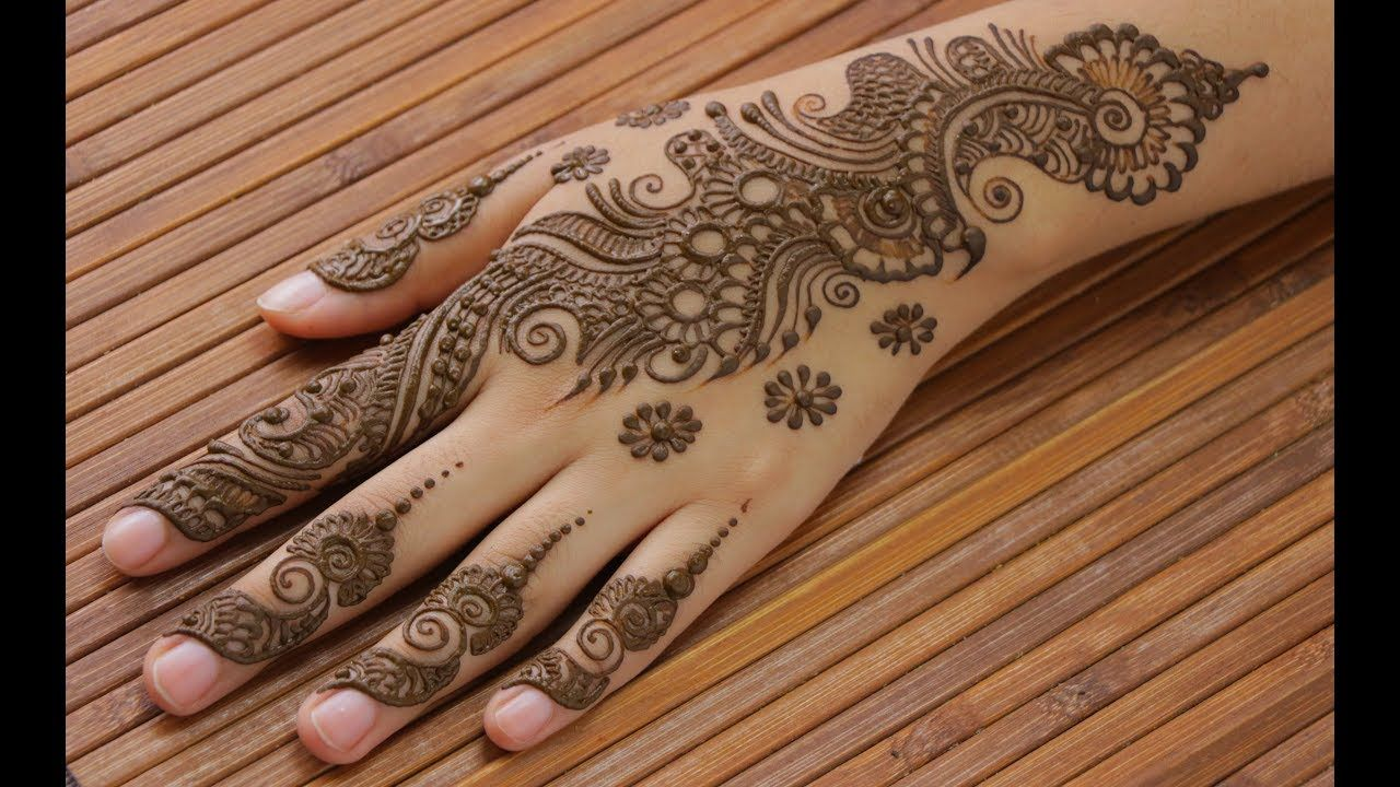 28 easy arabic mehndi floral designs for hands