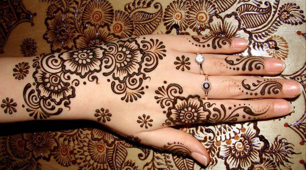 3 simple arabic mehndi designs for hands