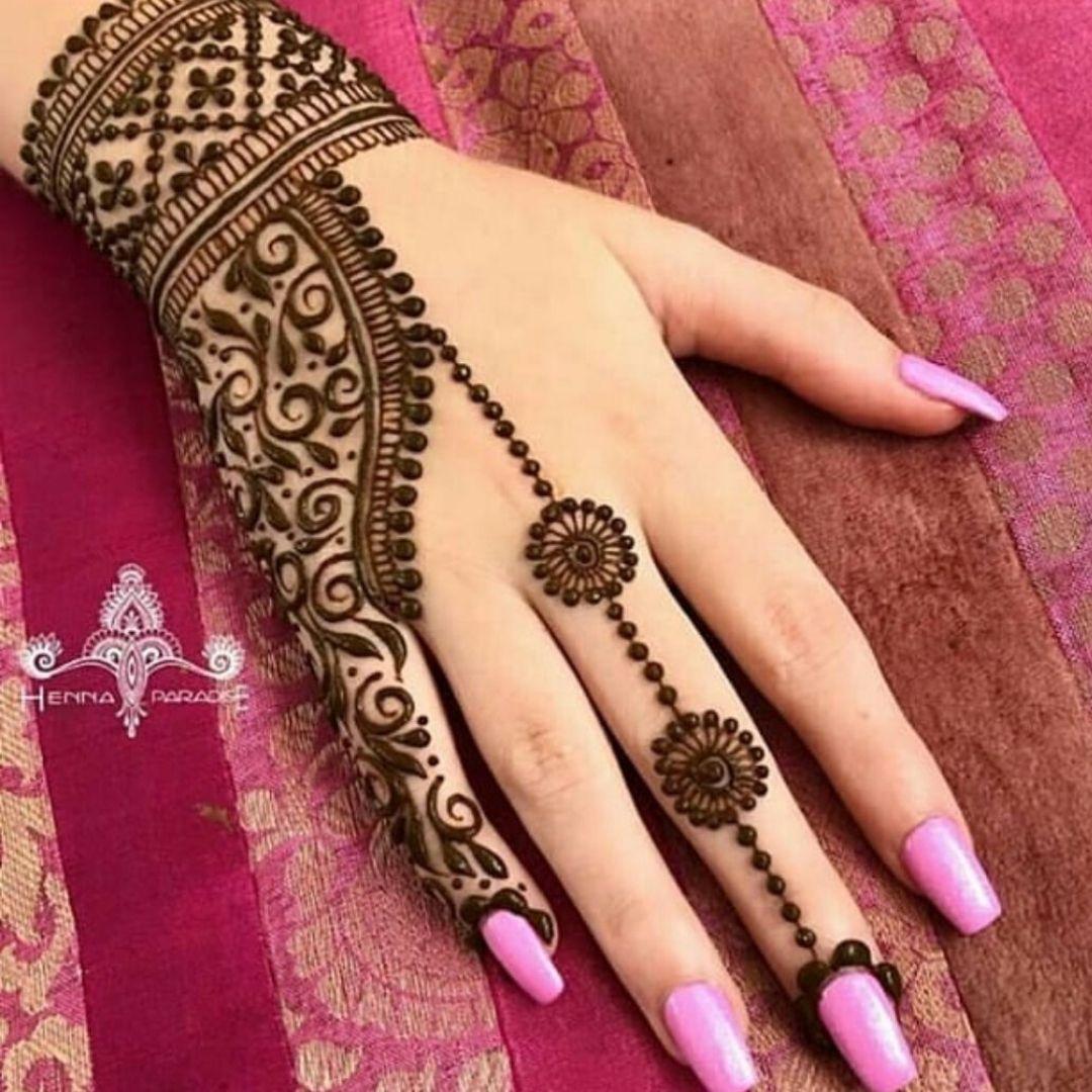 7 easy arabic mehndi designs for hands