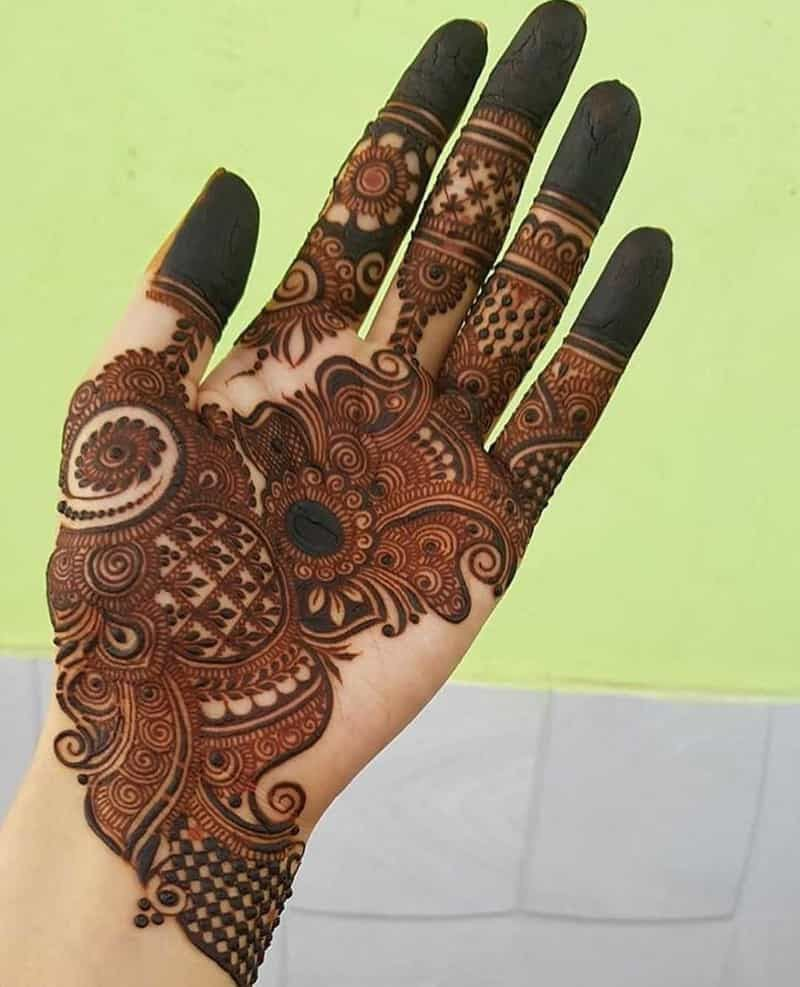 hand mehndi design for children