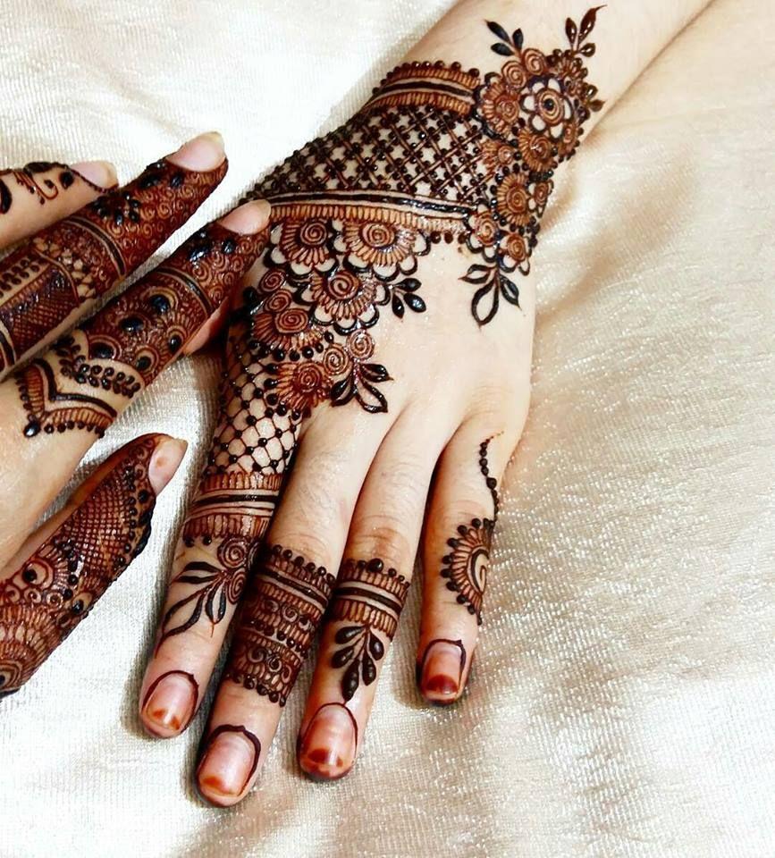 mehndi designs pakistani for back hand