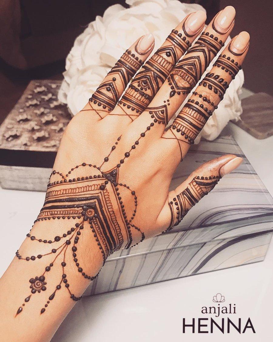 moroccan mehndi designs jewellery