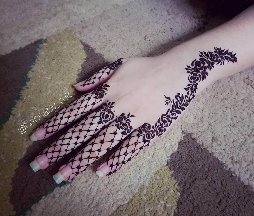 pakistani mehndi design for hand hennaby mk
