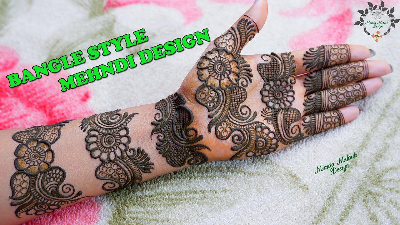 1 bangle mehndi design mamta
