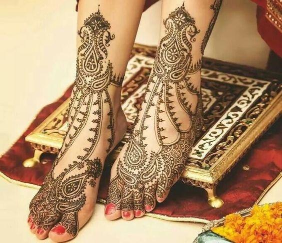 10 indian mehndi design bridal