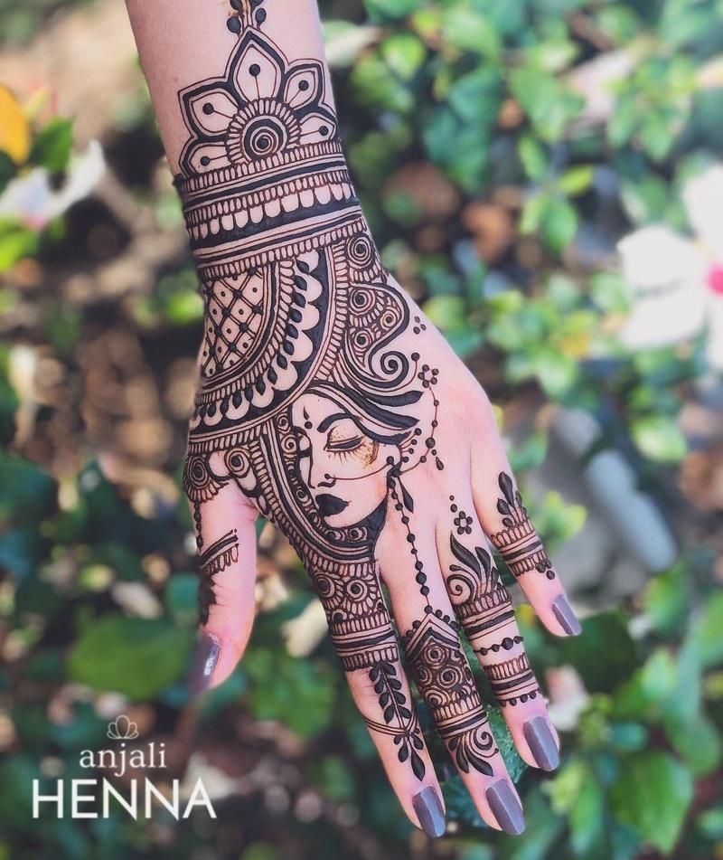 11 indian mehndi design by anjali