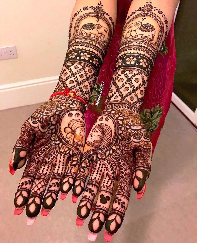 11 mehndi design hands full hand by pav