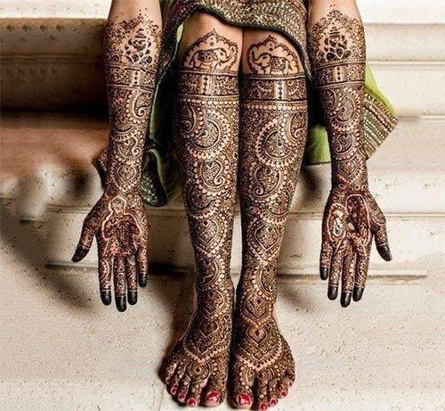 12 indian mehndi design bridal by anjali