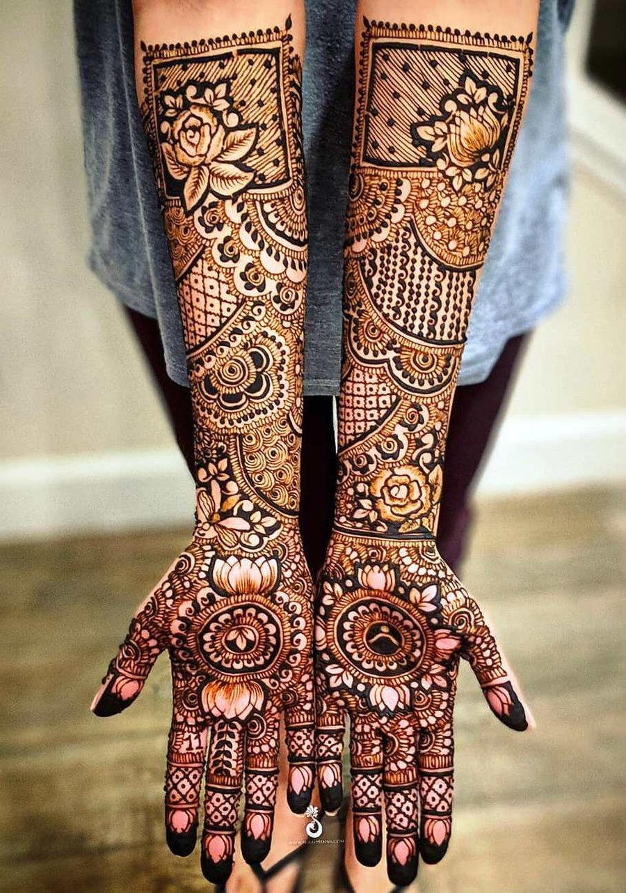 12 mehndi design hands full hand by hiral