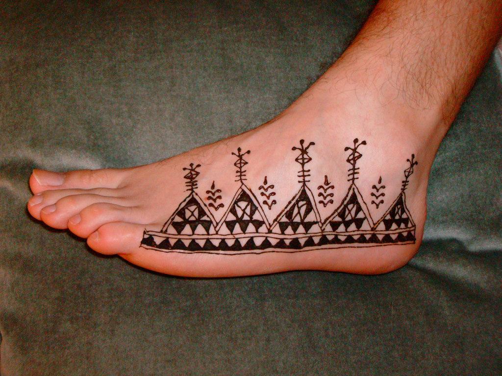 13 african mehndi design
