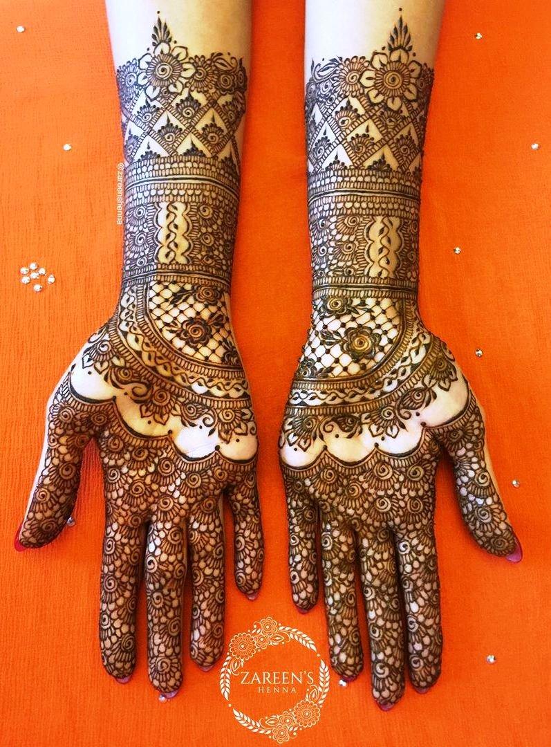 13 mehndi design hands full hand