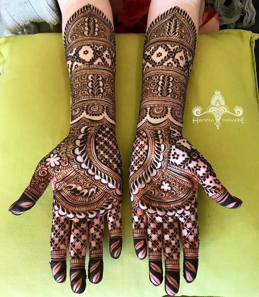 14 mehndi design hands full hand by henna paradise