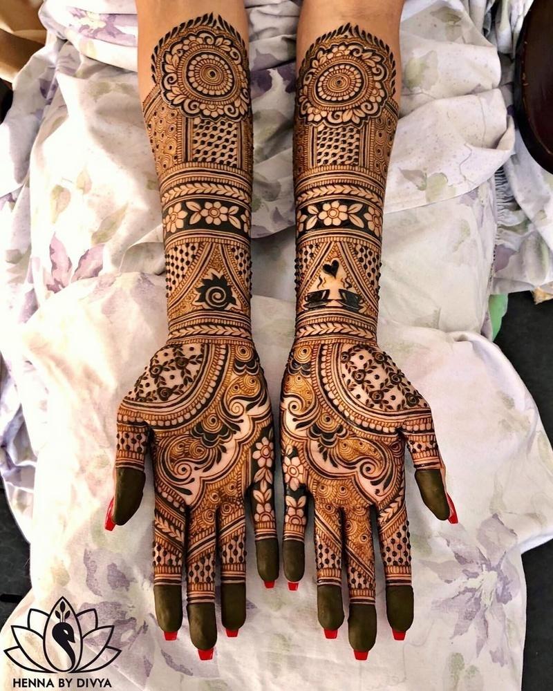 15 indian mehndi design bridal