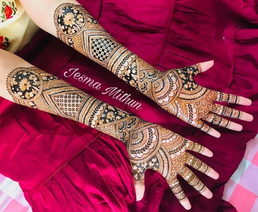 15 mehndi design hands full hand