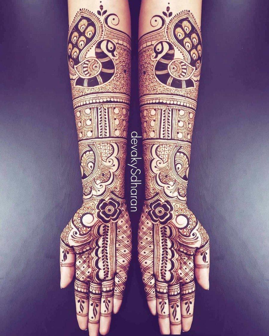17 mehndi design hands full hand