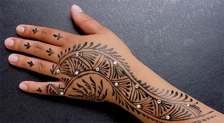 20 african mehndi design