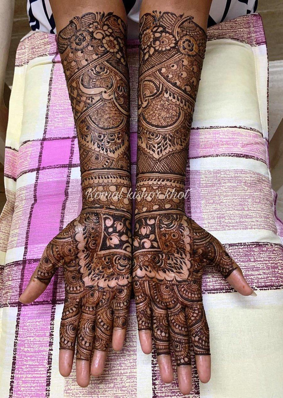 20 mehndi design hands full hand