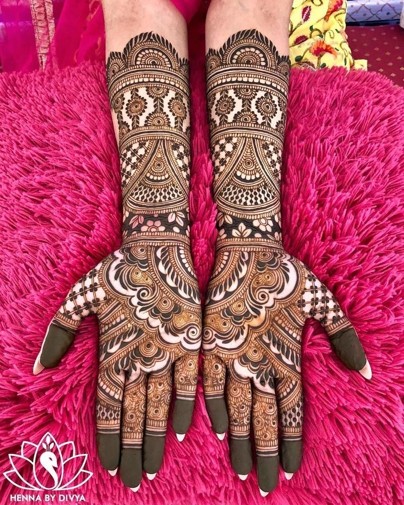 3 indian mehndi design traditional