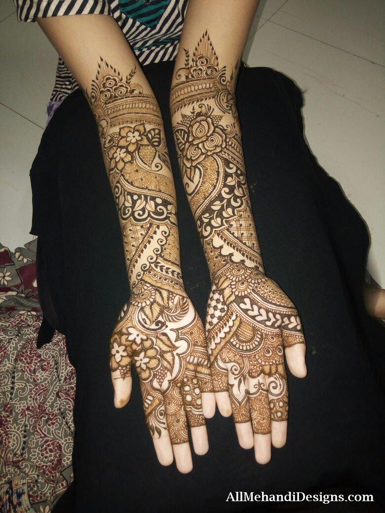 4 pakistani mehndi designs