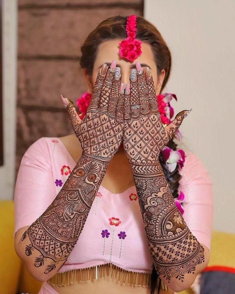 5 indian mehndi design bridal