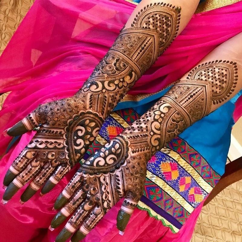 6 indian mehndi design bridal