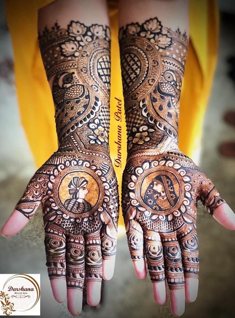 6 mehndi design hands full hand by dharshana patel