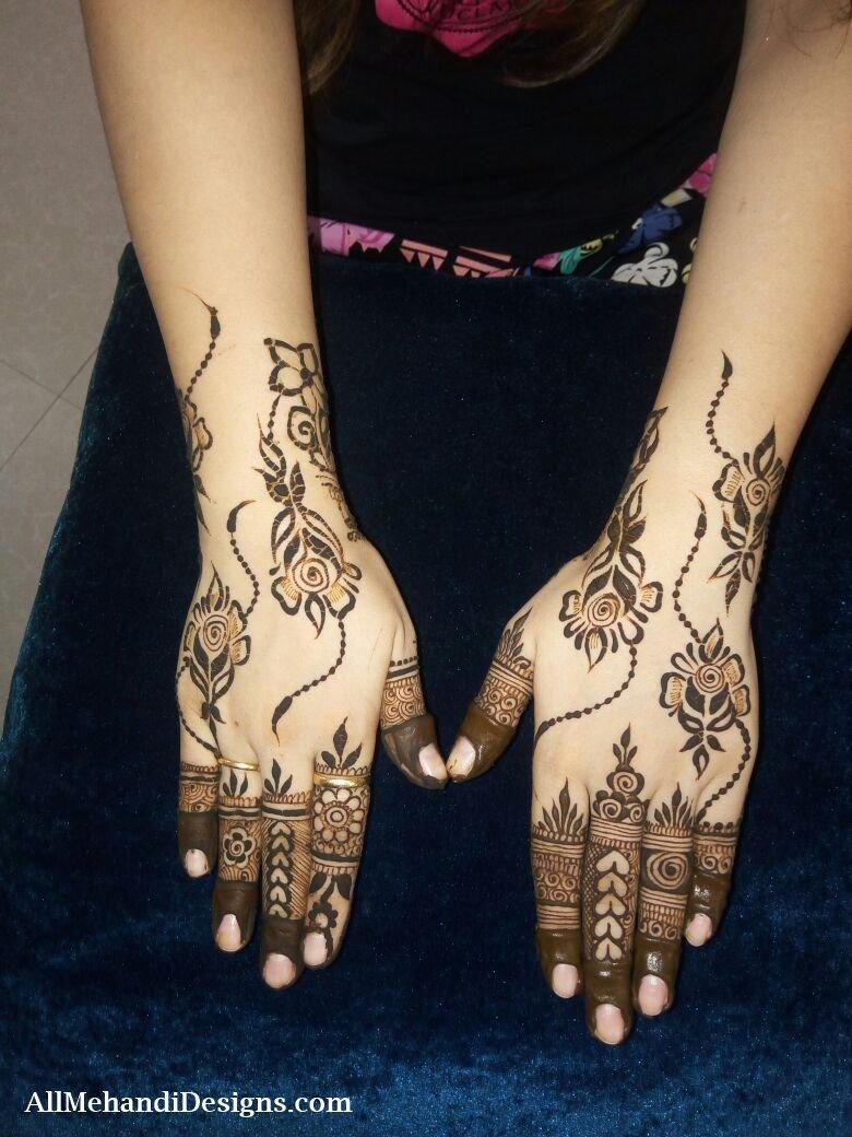 6 pakistani mehndi designs
