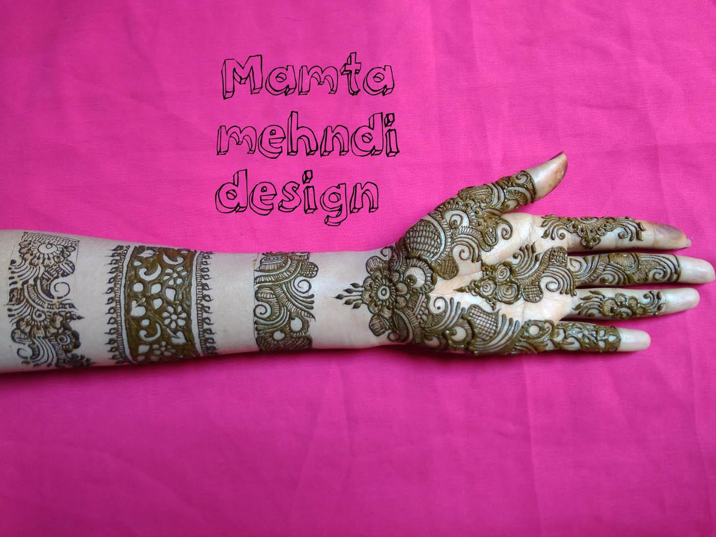 8 bangle mehndi design by mamta
