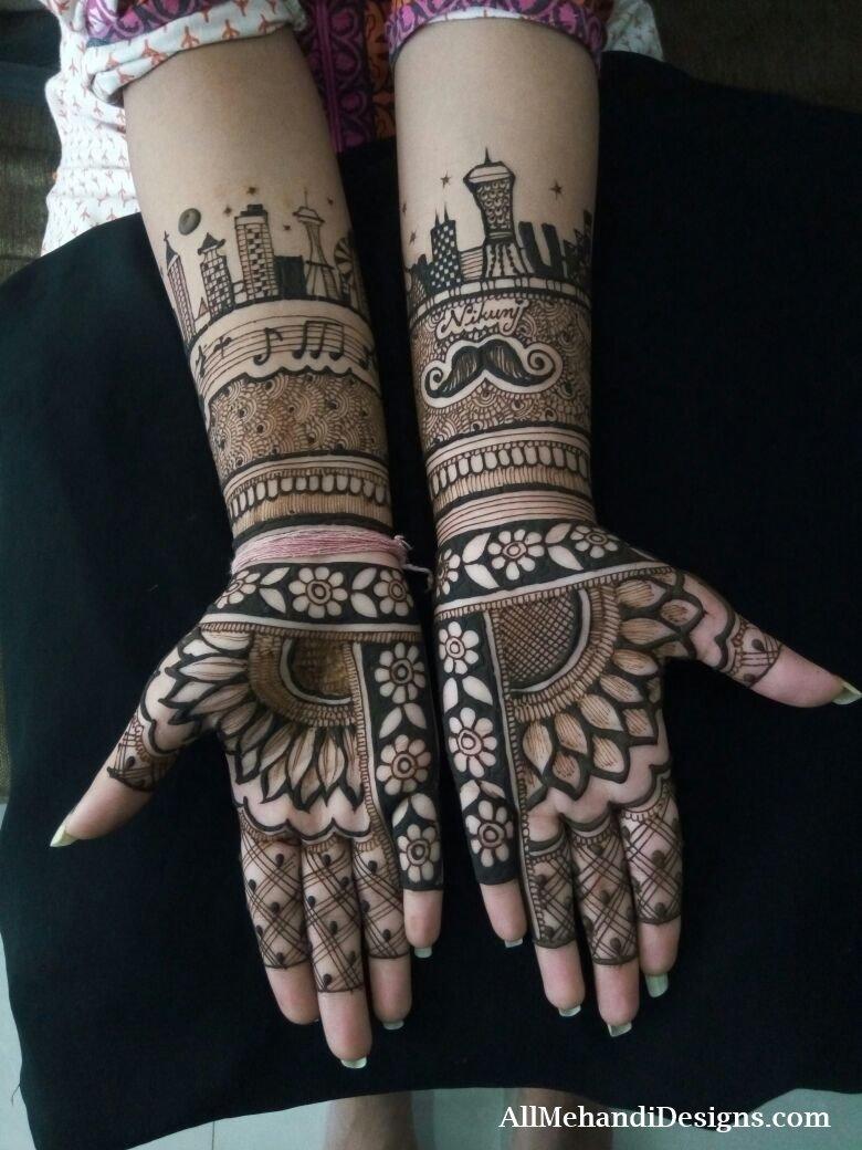 8 pakistani mehndi designs