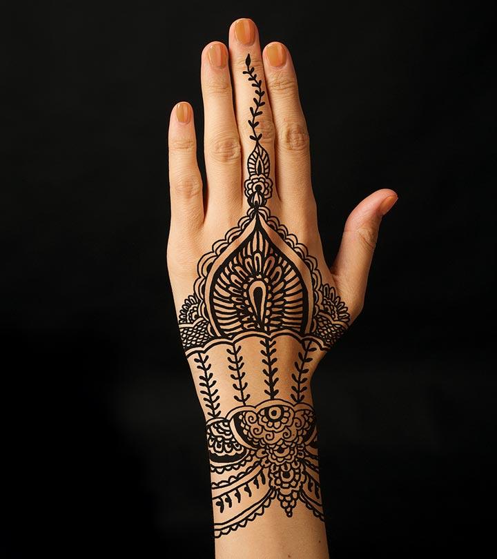 9 african mehndi design