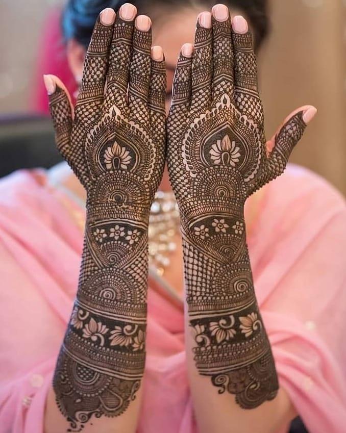 9 indian mehndi design bridal