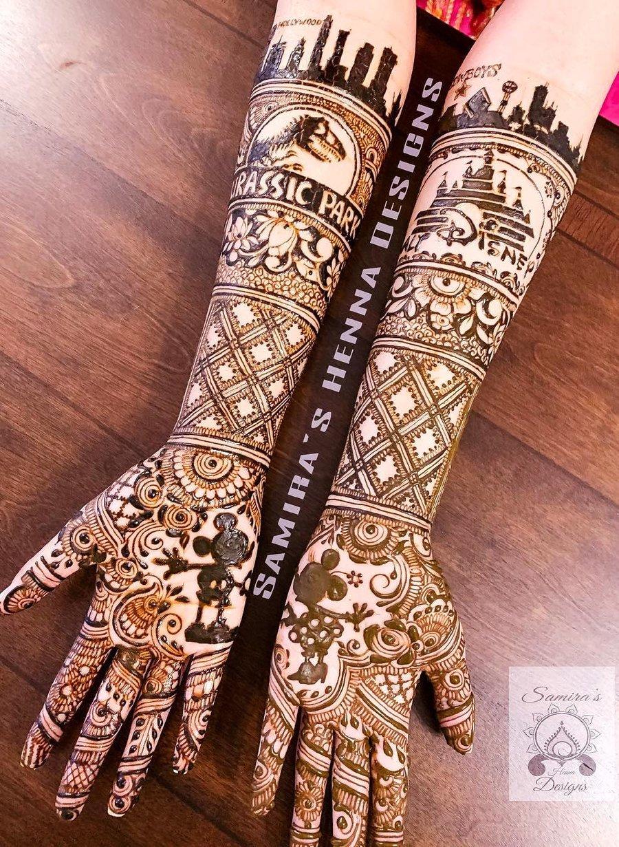 9 mehndi design hands full hand