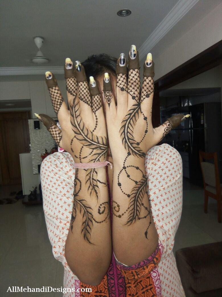 9 pakistani mehndi designs